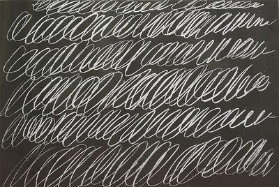 Cy Twombly, 'from 8 Odi di Orazio (series I)', 1968