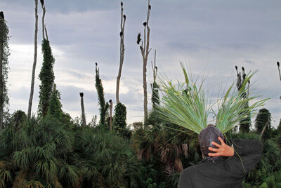Christy Gast, 'Self Portrait as the Herbert Hoover Dyke', 2010-2012