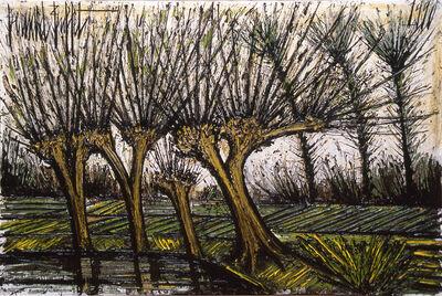 Bernard Buffet, 'Saules près de l'étang', 1990