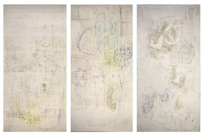 Charlotte Culot, 'White Nympheas 1, 2, and 4', 2015