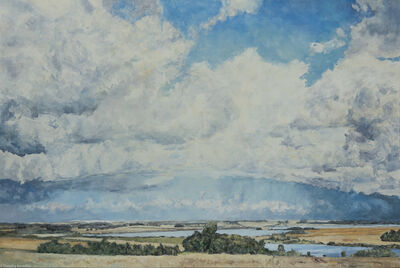 Dorothy Knowles, 'Clouds Over Prairie', 2009
