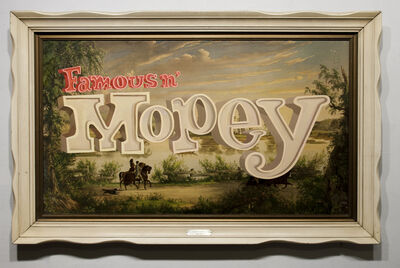 Wayne White, 'Famous N Mopey', 2013