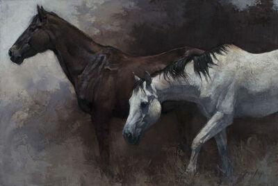 Jill Soukup, 'Dark and Light Horses No. 6', 2019