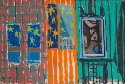 Paul Resika, 'Studio (Easel and Stars)', 1947