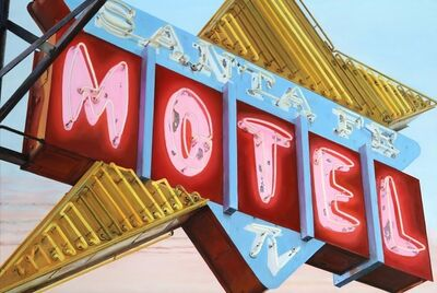 Terry Thompson, 'Santa Fe Motel', 2018