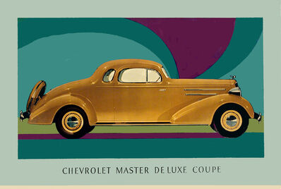 Anonymous, 'CHEVROLET MASTER DE LUXE COUPE', 1935