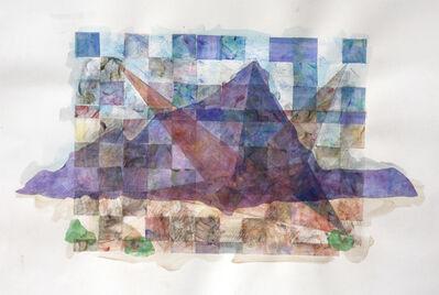 Kishi Ui, 'Mountain and Triangles (study)', 2015