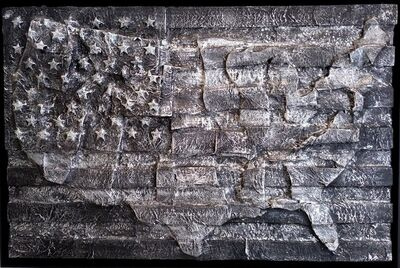 "Michael Beresheim, '""Resilient; Black Flag""', 2017"