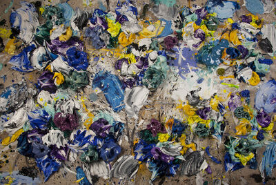 Ismael Lagares, 'Blue & Yellow ', 2020