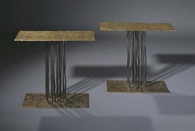 Anne and Vincent Corbiere, 'Pluie Tables'