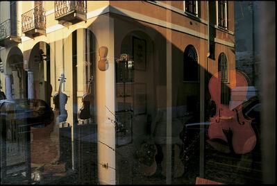 William Albert Allard, 'Violin shop window, Cremona, Italy 2001', 2001