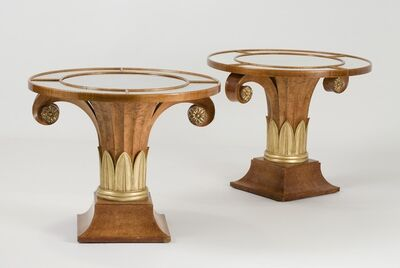 T.H. Robsjohn-Gibbings, 'Pair of Side Tables', ca. 1936