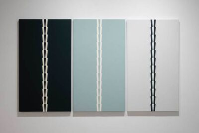 Tess Jaray RA, 'From Borromini Blue', 2015