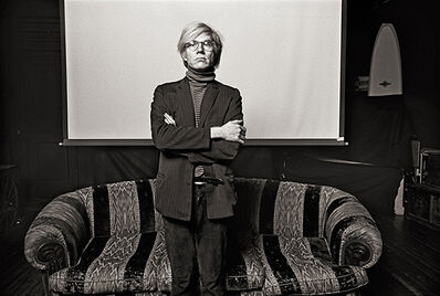 "Norman Seeff, 'Andy Warhol, ""Andy Standing""'"