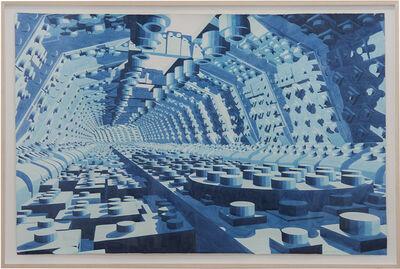Dagoberto Rodríguez, 'Azul', 2019