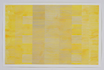 Melissa Casey, 'Gray Over Cadmium Yellow', 2018