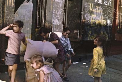 Helen Levitt, 'NY', 1972