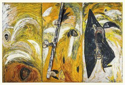 Mimmo Paladino, 'La balena immalata', 1981