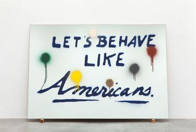 Sam Durant, 'American Behavior', 2016