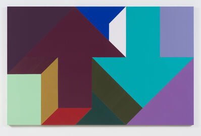 Tony Tasset, 'Arrow Painting 61', 2016