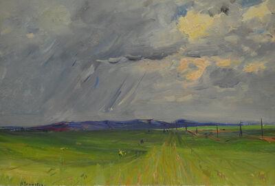 Nadezhda Eliseevna Chernikova, 'Green fields', 1952