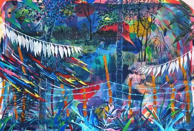 Brandon Opalka, 'Untitled Jungle', 2016