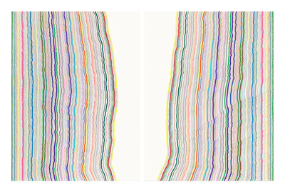 Rachel Perry, 'Chiral Lines #19, 2016'