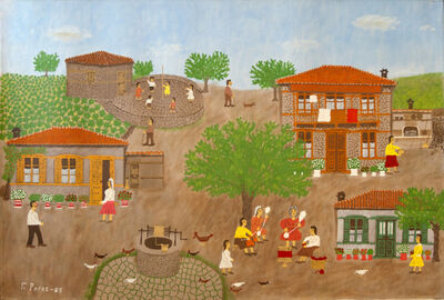 Giorgos Rigas, 'Spinning Wool', 1986