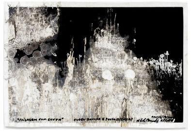 Paulo Bruscky, 'Paisagem com chuva ', 1973