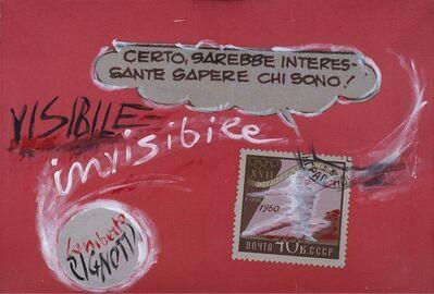 Lamberto Pignotti, 'Visibile, invisibile. Certo sarebbe interessante'