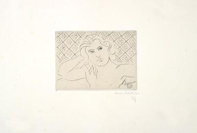 Henri Matisse, 'TORSE, FOND FLEURI', 1929