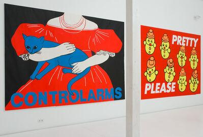 Les Levine, 'CONTROL ARMS', 1989