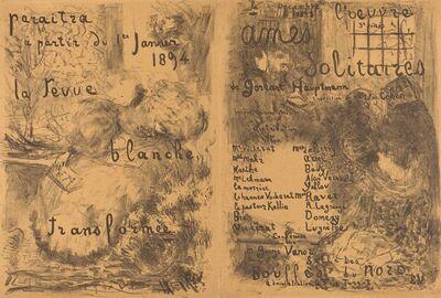 Édouard Vuillard, 'Ames solitaires', 1893