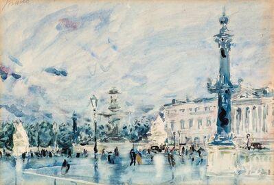 Maceo Casadei, 'Piazza a Parigi', 1936 ca.