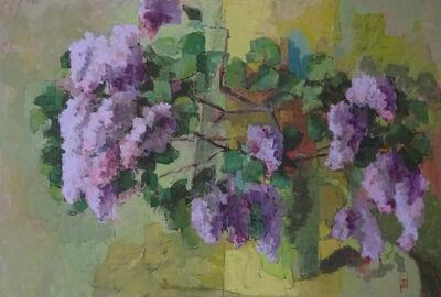 Jill Barthorpe, 'Wild Lilac', 2018