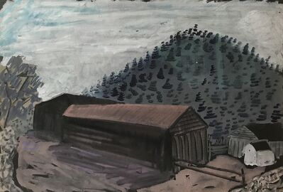 Milton Avery, 'Untitled (Long Barn)', ca. 1937
