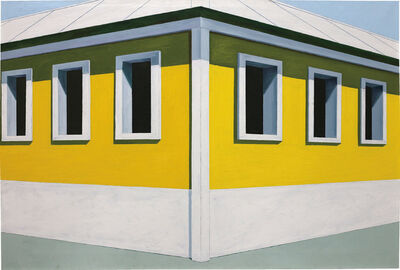 Emilio Sanchez, 'Yellow House', 1965