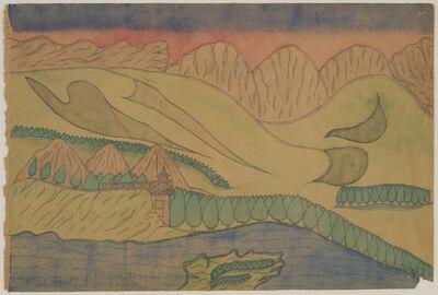 Joseph Yoakum, 'King Leopold Range, Argyle Downs, Australia', ca. 1969