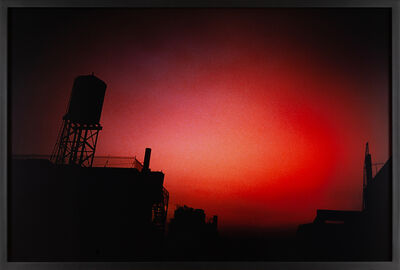 Nan Goldin, 'Red sky from my window, NYC', 2000