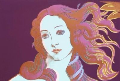 Andy Warhol, 'Birth of Venus, Details of Renaissance Paintings, 1482', 1984