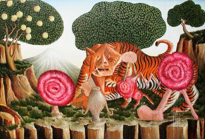 Siro Cugusi, 'Tiger', 2018