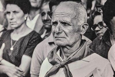 Marc Garanger, 'Enterrement de Togliatti, Rome'