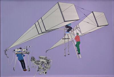 Seungpyo Hong, 'Sky Sound, Engine Crawling', 2014
