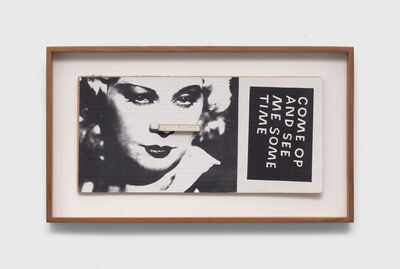 Ray Johnson, 'Untitled (Mae West, Come Op and See Me Sometime)', 1993-1994