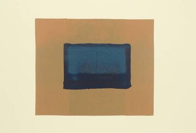 Howard Hodgkin, 'Indian View A', 1971