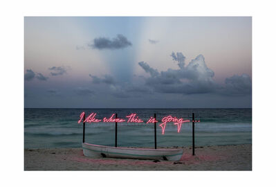 Olivia Steele, 'I Like Where This Is Going (dusk)', 2017