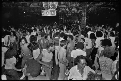 Bill Bernstein, 'Paradise Garage Dance Floor', 1979