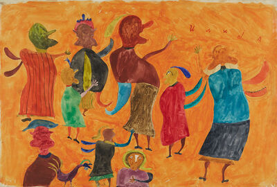 Ilija (Bosilj) Basicevic, 'The Dzigura Takes Wing', 1963