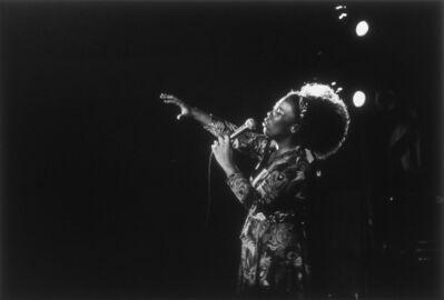 Mario Algaze, 'Roberta Flack, Miami Beach, Florida', 1974