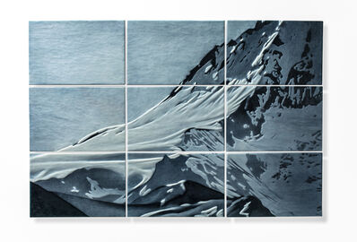 April Surgent, 'ICE FIELD; ANONYMOUS', 2019